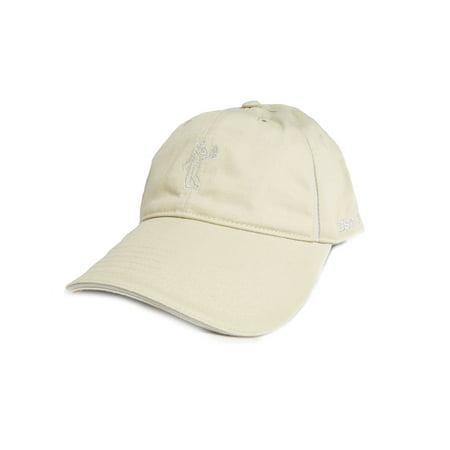 NEW Ashworth Cotton Twill Light Khaki Adjustable Golf Hat Cap ... e96044c3b9d