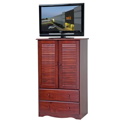 Palace Imports, Petite Wardrobe/Armoire/Closet, 100% Solid Wood, Multiple