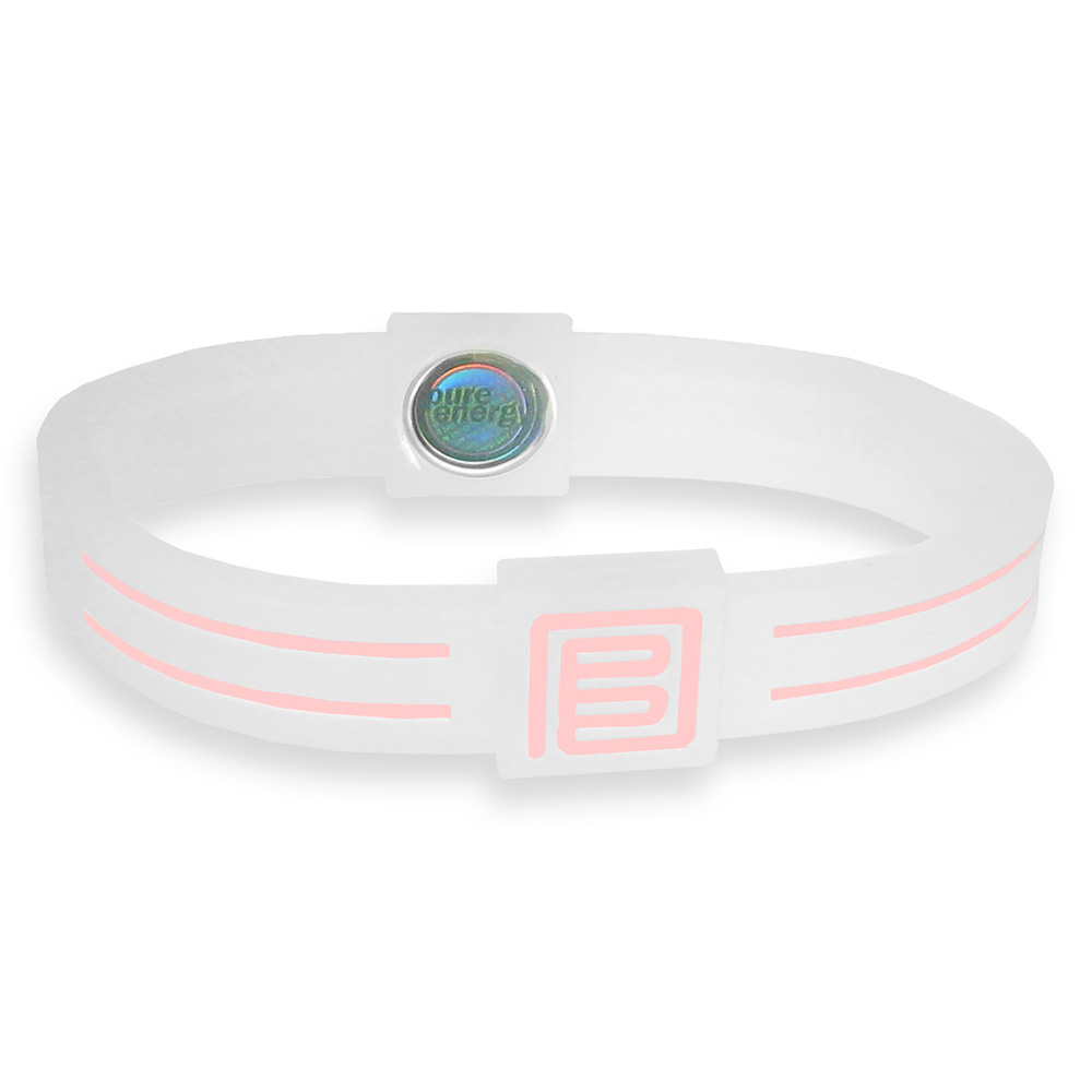 Pure Energy Band - Duo - Clear White/Pink 6.1