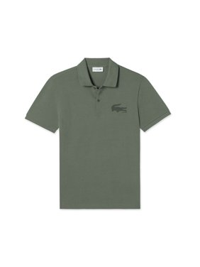 675d64580 Product Image Lacoste Men s Short Sleeve Graphic Bonded Croc Jersey Slim  Fit Polo T-Shirt