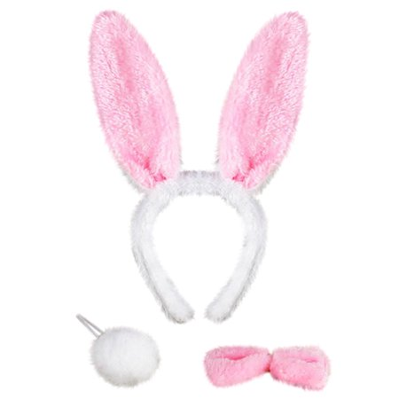 Mosunx Perform Prop Animal Set Zoo Headband Ears Bow Tail Fancy Dress for Kids - Fancy Dresses For Children