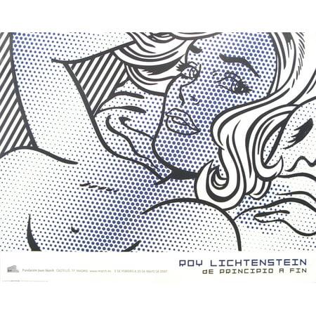 Roy Lichtenstein-Seductive Girl-2007 Poster - Roy Lichtenstein Halloween