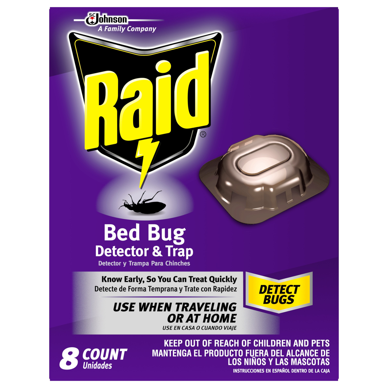 Raid Bed Bug Detector, 8 Ct