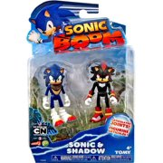 Sonic The Hedgehog Sonic Boom Sonic & Shadow Action Figure 2-Pack