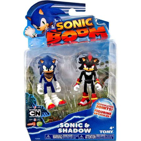 Sonic The Hedgehog Sonic Boom Sonic   Shadow Action Figure 2 Pack