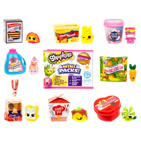 Shopkins Season 10 Mini Packs Collector's Edition, Shopper 8-Pack