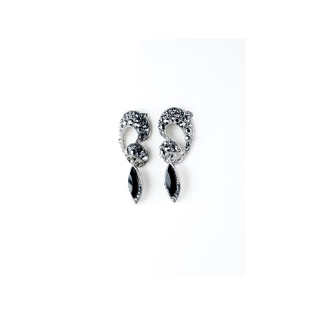Black Jet Earring