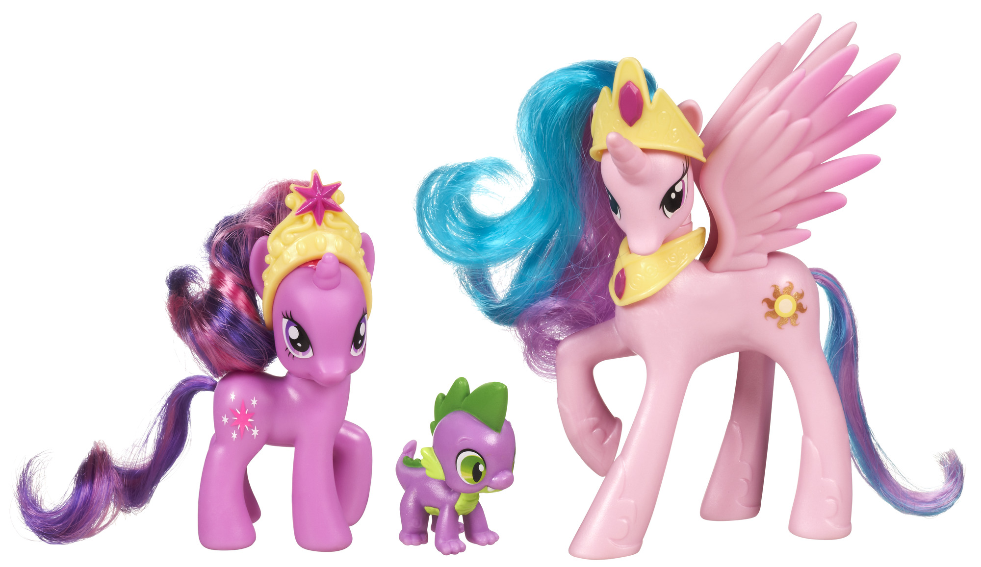 My Little Pony Friendship is Magic Royal Castle Friends Figure Set by Hasbro