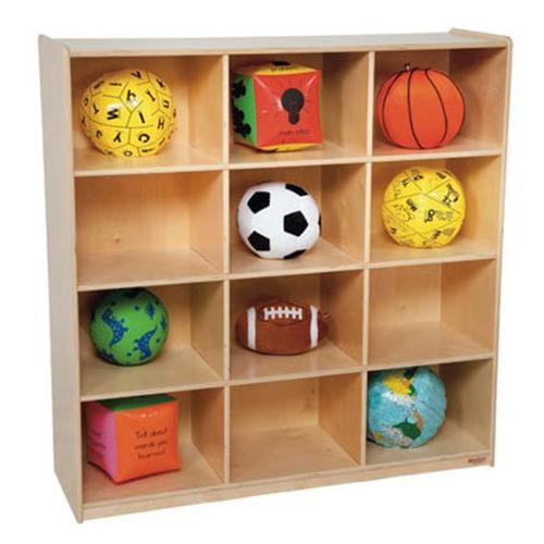 Wood Designs 50912 Twelve Big Cubby Storage