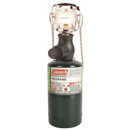 Coleman One-Mantle Compact Propane Gas Lantern for Outdoor Use