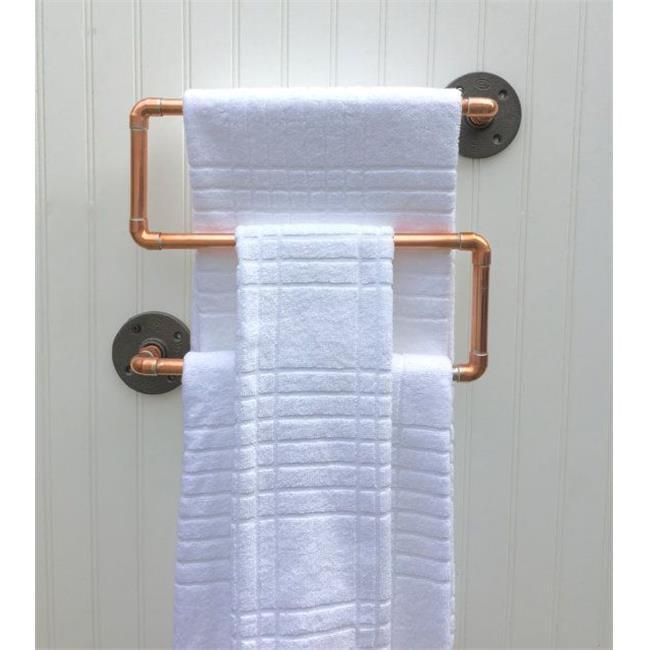 DDI 2273723 Heavy Duty Copper Towel Holder Case of 12