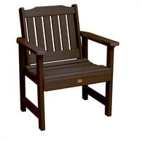 highwood Eco-Friendly Recycled Plastic Lehigh Garden Chair