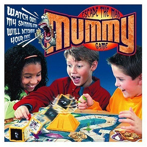 Escape The Mad Mummy Game By Hasbro by