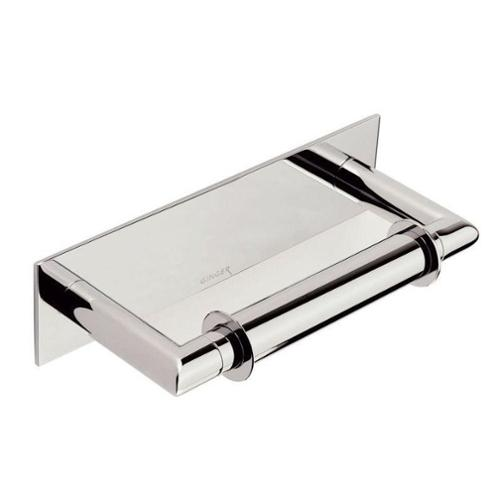 Ginger 2808/PC Surface Double-Post Toilet Paper Holder, Polished Chrome