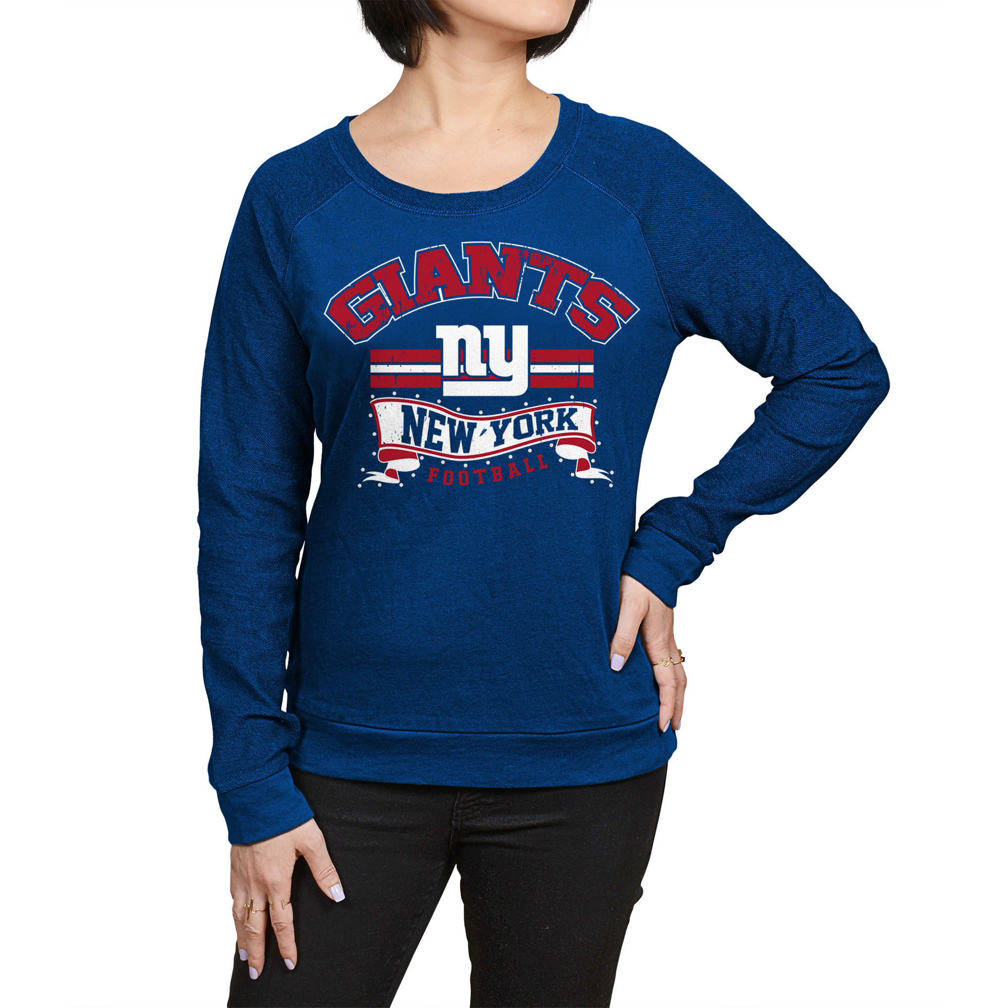 NFL New York Giants Juniors Fleece Top