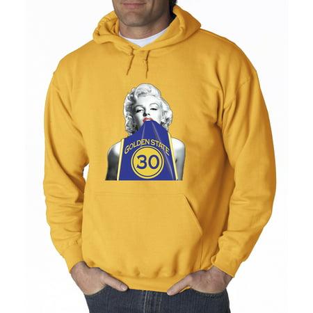 wholesale dealer 94550 bfc1e 503 - Hoodie Marilyn Monroe Stephen Curry Basketball Series Sweatshirt