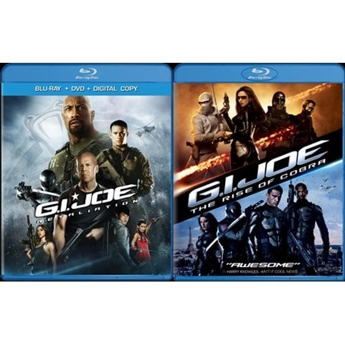 G.I. Joe: Retaliation / G.I. Joe: The Rise Of Cobra (Blu-ray) (Walmart Exclusive) (With INSTAWATCH) (Widescreen)