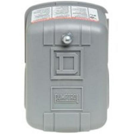 Square D Pumptrol FSG3J20BP Pressure Switch, 115/230 V, 3/8-18 NPS Female ()