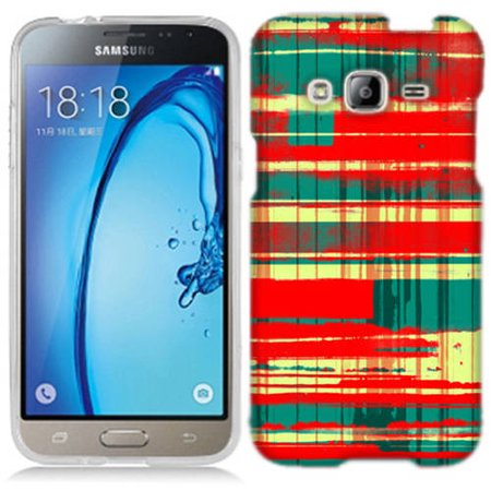 Mundaze Spray Plaid Phone Case Cover for Samsung Galaxy Core Prime Prevail (Qwik Spray Case)