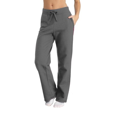 Womens Vintage Fleece Pants - Women's Fleece Sweatpants With Pockets
