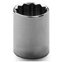 MT6499420 0.37 in. 6 Point Drive Standard Socket, 15 mm