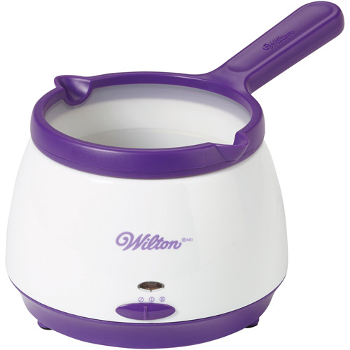 Wilton Candy Melts Melting Pot, Purple/White