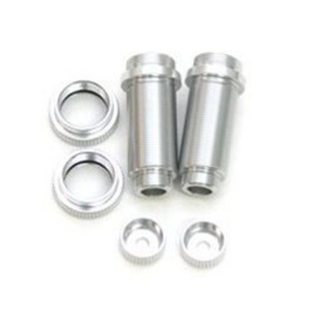 Slash Big Bore Shocks - ST Racing Concepts ST3765XS Aluminum Big Bore Threaded Front Shock Bodies for Slash (Silver)