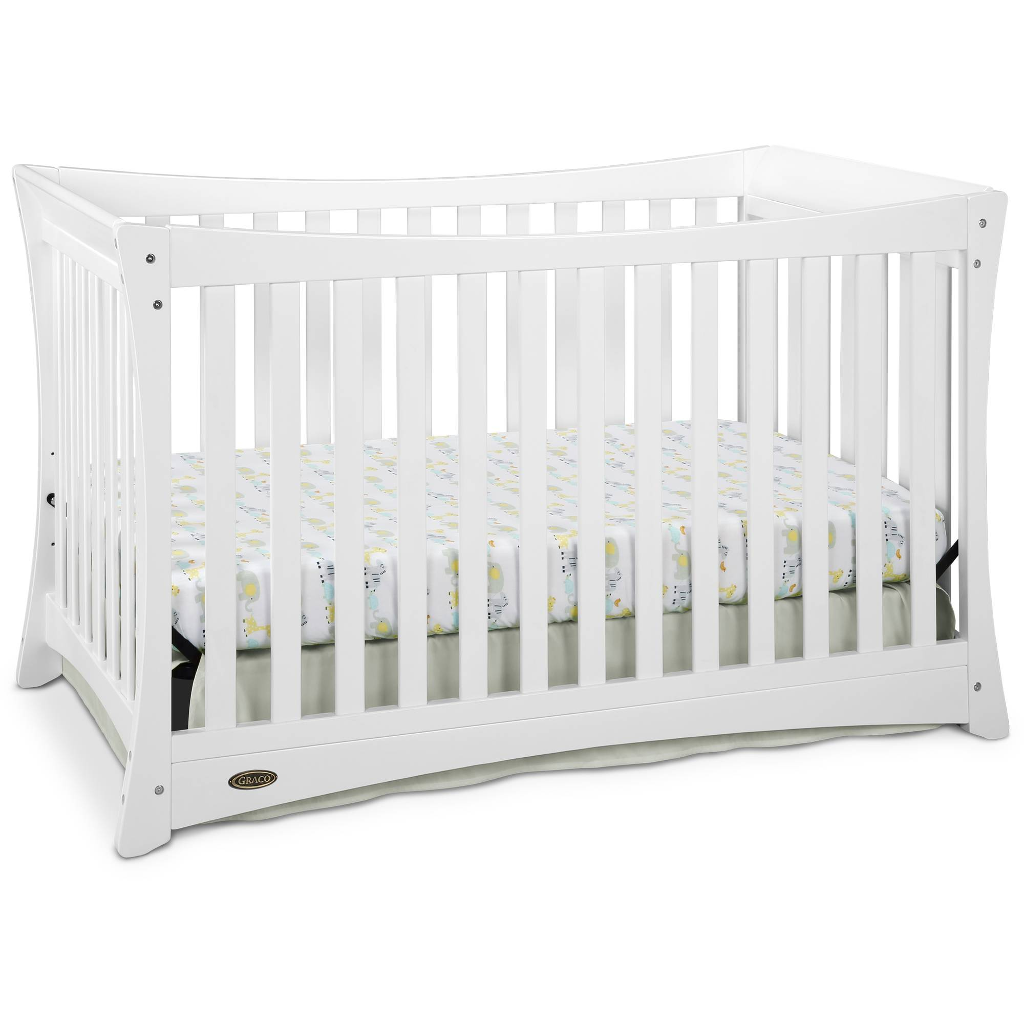 Graco Tatum 4 in 1 Convertible Crib White