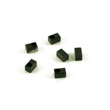 FLOYD ROSE STRING LOCK INSERT BLOCK BLACK (SET OF (Lock Floyd Rose)