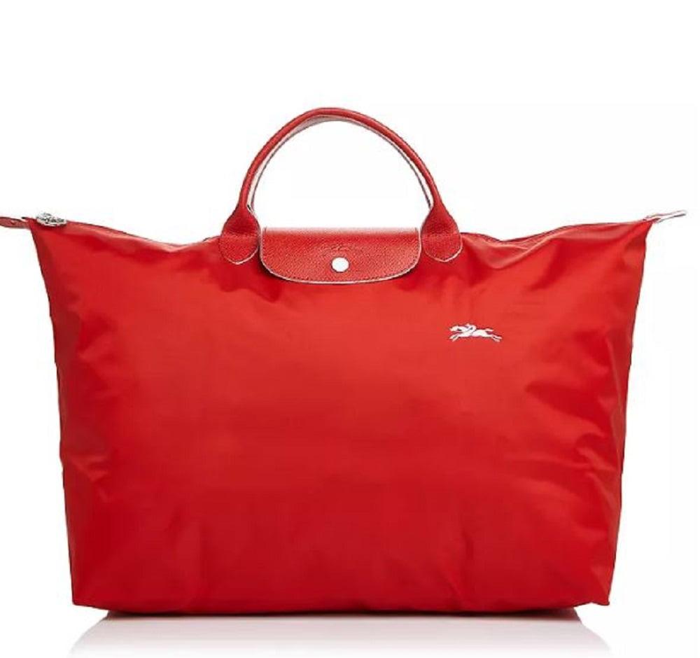 LongChamp Women's Le Pliage Club Travel Bag Large Vermillon Red -  Walmart.com