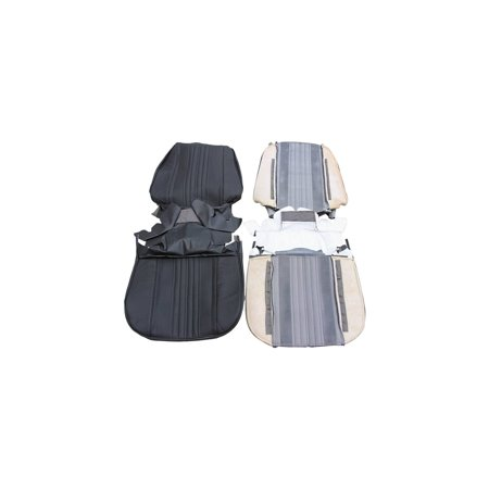 Eckler's Premier  Products 50-210740 PUI Chevelle Seat Covers, Bucket, Leather, Coupe & Convertible,