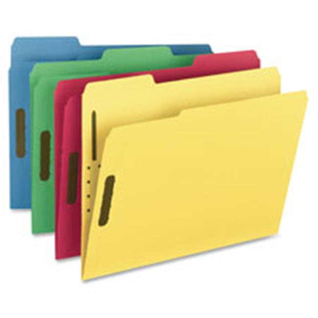 Rec Fastner Folder, .33Cut, 11pt, 11.63 in. x 9.5 in., 50-BX, RD