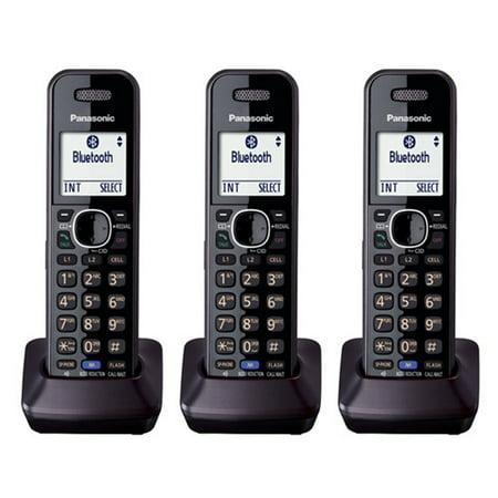Digital 2 Line Cordless Accessory - Panasonic KX-TGA950B DECT 6.0 Plus 2-Line Operation Digital Cordless Telephone (3 Pack)