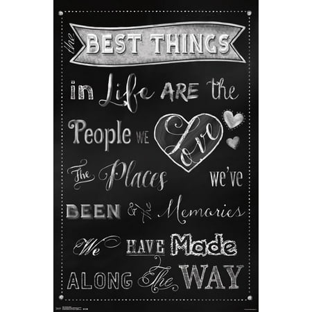 Trends International The Best Things Wall Poster 22.375