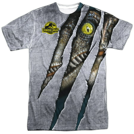 Jurassic Park - Live Raptro - Short Sleeve Shirt - - Liv Short
