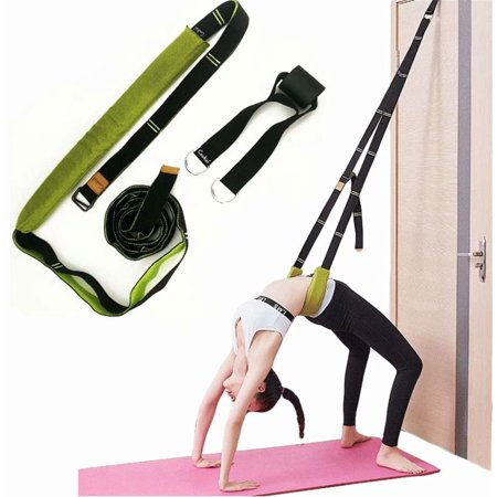 Back Bend Assist Trainer - Improve Back and Waist Flexibility, Door Flexibility Stretching Strap, Home Equipment for Ballet, Dance, Yoga, Gymnastics, Cheerleading,