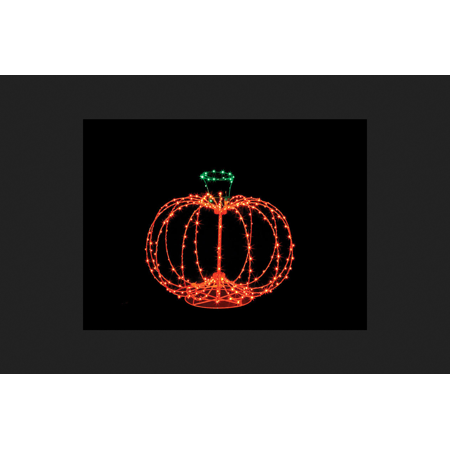Santa's Best Pumpkin Lighted Halloween Decoration 15.5 in. H x 18 in. W 1 pk - The Best Halloween Party In London