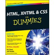 HTML, XHTML and CSS For Dummies - eBook