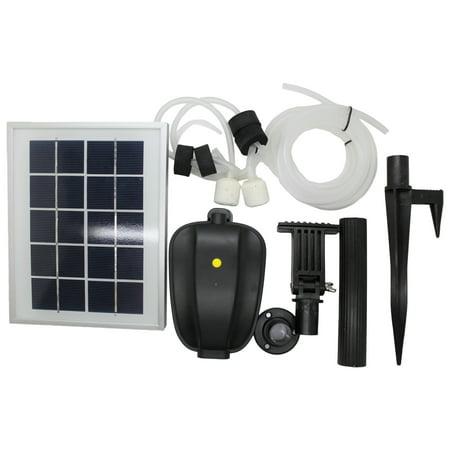 Pond Oxygenator (ASC 2.5W Solar Water Pond Oxygenator Kit With Battery Backup and Winter Mode )