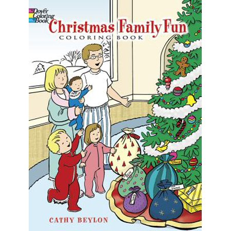 Christmas Family Fun Coloring Book (Family Fun Coloring Pages Halloween)