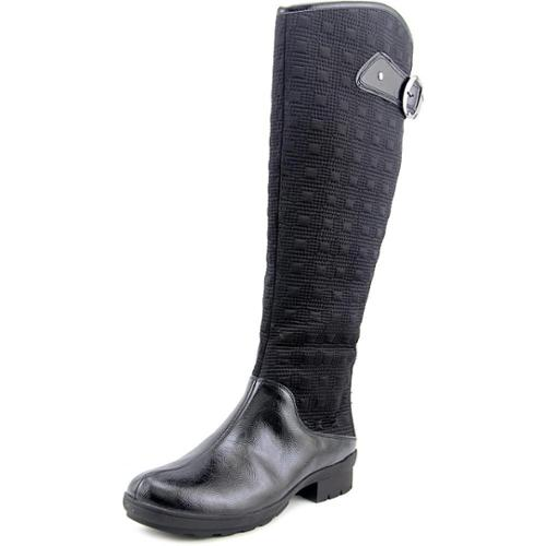A2 By Aerosoles Cascade Women Round Toe Canvas Black Winter Boot by A2 By Aerosoles