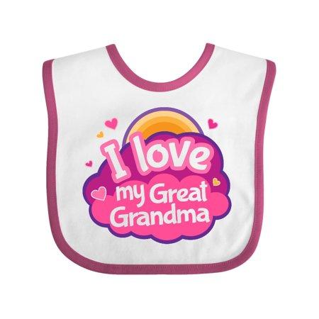 I Love My Great Grandma Baby Bib Walmart Com