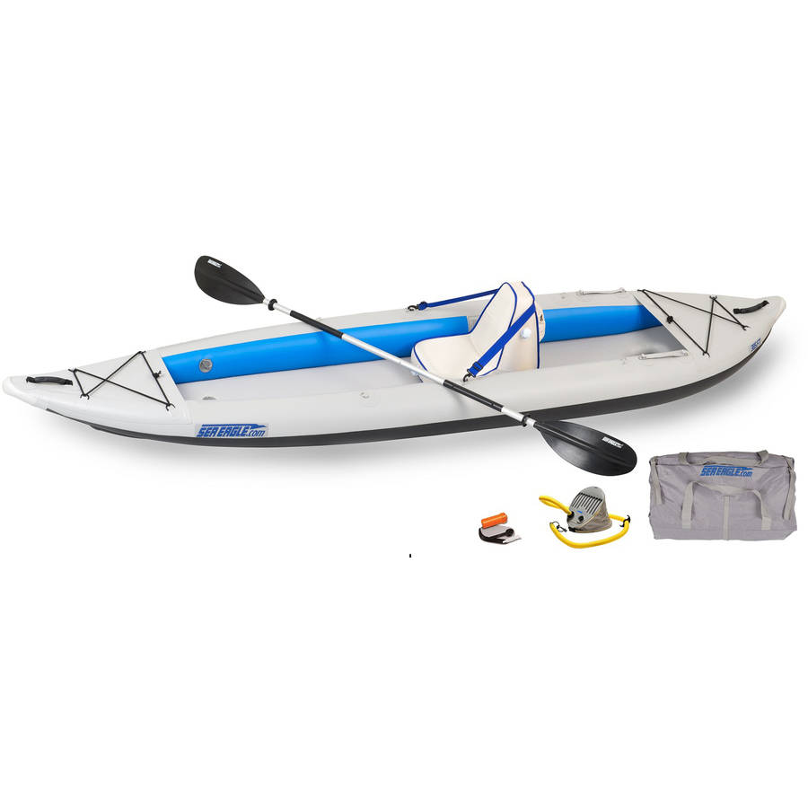 Sea Eagle FastTrack 385FTK Inflatable Kayak Deluxe Solo by Sea Eagle