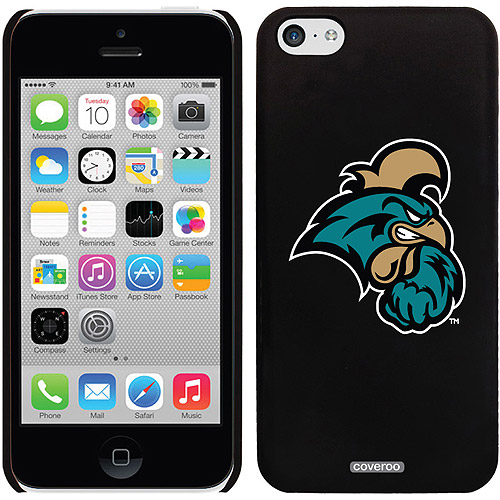 Coastal Carolina Primary Head Mark Design on iPhone 5c Thinshield Snap-On Case by Coveroo