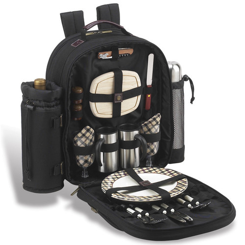 Picnic At Ascot London Coffee / Picnic Backpack Cooler for Two