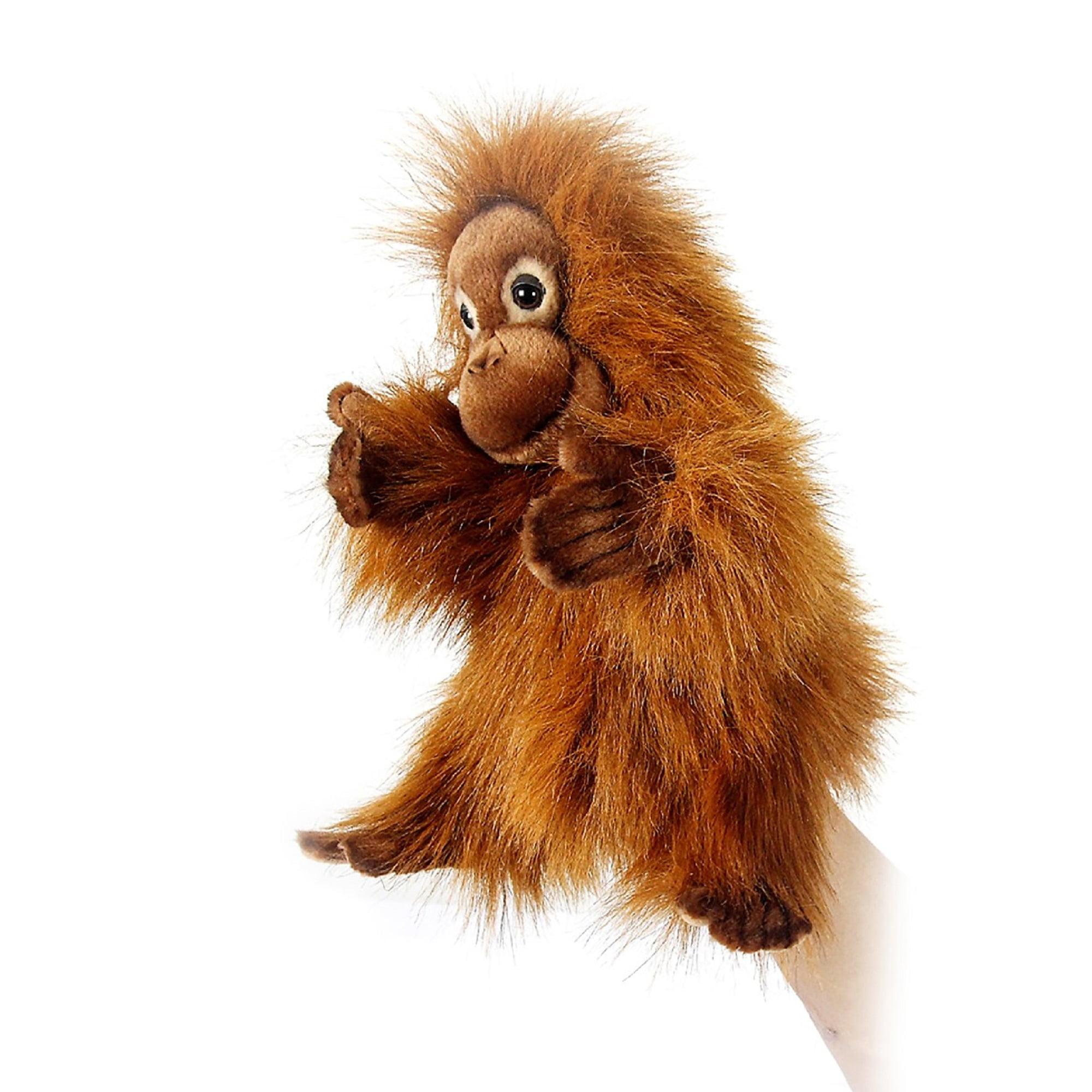 Hansa Toys - Orangutan Hand Puppet, Baby