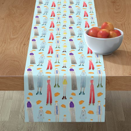 Image of Table Runner Hats Sawyer Woods Sawyer Fashion Cotton Sateen