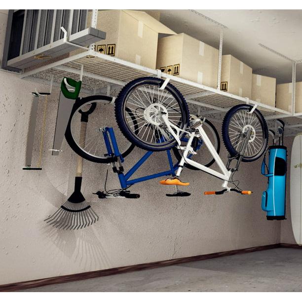 Fleximounts 3x8 Heavy Duty Overhead, Overhead Garage Storage Rack Hooks