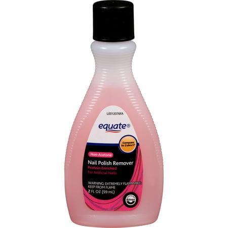 Equate Non-Acetone Nail Polish Remover, 2 fl oz