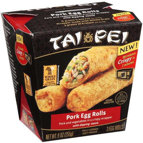 Tai Pei® Pork Egg Rolls 9 oz. Carton